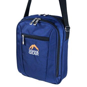 MENS MEDUIM SIZE CROSS BODY MESSENGER BAG (BLUE)