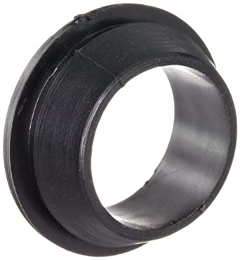 "PVC (Polyvinylchloride) Quick Fit Grommet, .85"" OD, .32"" Thickness for .06"" Panel (Pack of 100)"