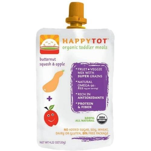 Happy Baby Happytot Organic Superfoods Apple And Butternut Squash -- 4.22 Oz