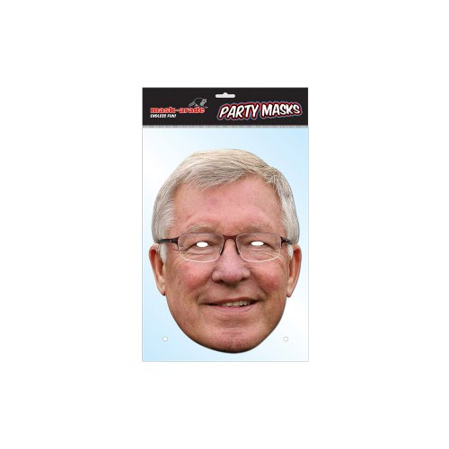 Funky Designs Alex Ferguson Machester United Manager Celebrity Card Face Mask