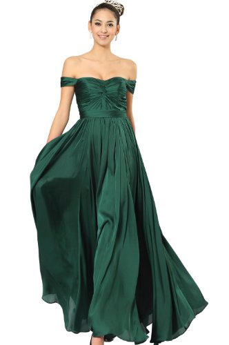 eDressit Green Party Dress Ball Gown Evening (00090704) SZ 18