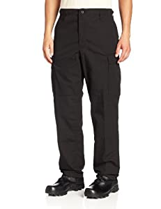 Propper Men's Zip Fly BDU Trouser, Black, 3X-Large Long