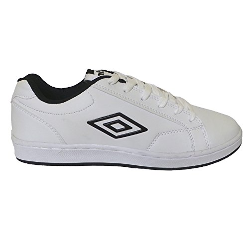 Umbro Scarpe Uomo Medway 40202U 096 White/Black,simil stan smith (43)