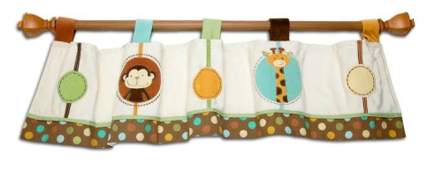 Nojo Jungle Tales Window Valance front-565295