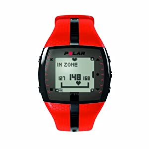 Polar Men's FT4 Heart Rate Monitor (Orange/Black)