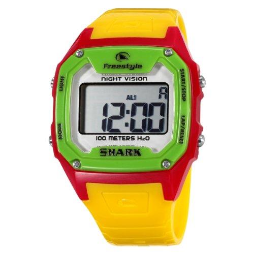Freestyle Men's FS84849 Killer Shark Digital Multicolor Polyurethane Watch