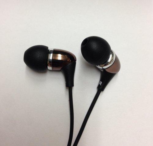 Knowles製 TWFK Dual Speaker採用 デュアル・バランスド・アーマチュア 高解像イヤホン G452(ブラウン)