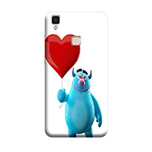 iCover Premium Printed Mobile Back Case Cover With Full protection For Vivo V3 Max (Designer Case)