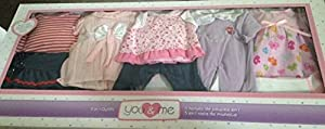 You & Me 12-15 inch 5-in-1 Doll Fashions