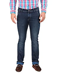 Oxemberg Men's Slim Fit Denim (HL7664_BLUE_36)
