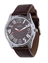 ADINE Brown Dial Analogue Watch For Men-AD-208Brown