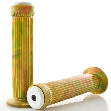 Alienation Ratchet BMX Bike Grip – Rasta