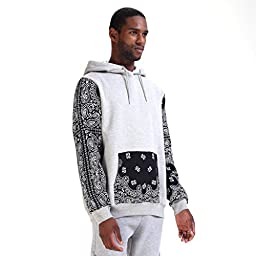 Pizoff Mens Winter Hoodies Jacket Coat Sweater Sweatshirt Tops, Y0875-Gray-XL