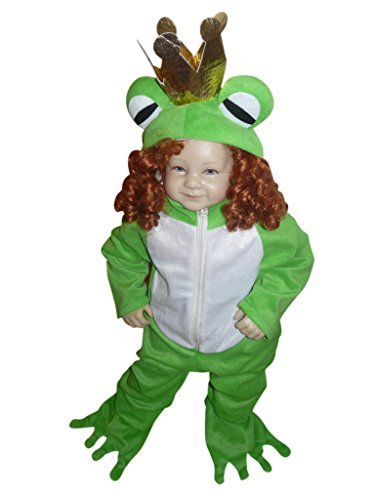 Fantasy World Boys/Girls Frog Prince Halloween Costume, Size 2T, Sy12 (Halloween Costume Ideas For Toddlers)