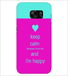 PrintDhaba Quote D-2629 Back Case Cover for SAMSUNG GALAXY S7 (Multi-Coloured)