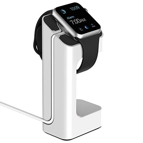 Apple Watch スタンド, JETech® 38mm/42mm Apple Watch用のチャージャー,全機種適用(2015)- ホワイト