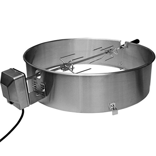 Onlyfire 22 1 2 Inch Stainless Steel Charcoal Kettle