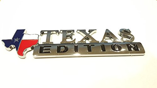 Muzzys Texas Flag Edition Emblem Fender Tailgate Door Badge 3M Stick On Universal Ford Chevy GM F-150 Silverado (Ford F150 Fender Emblem compare prices)