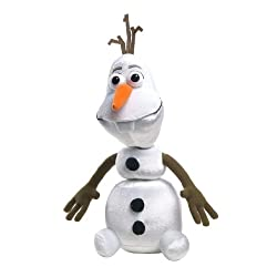 [Best price] Stuffed Animals & Plush - Just Play Frozen Olaf Feature Plush - toys-games