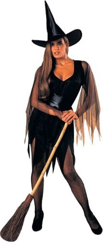 Rubie's Womens 'Sexy Witch' Halloween Costume, Black, Standard