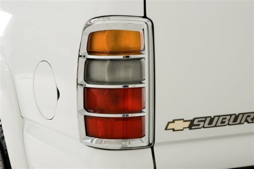 Buy Wade 15002 Chrome Tail Light Cover for 02-06 Cadillac Escalade EXT