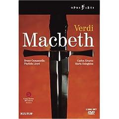 輸入盤DVD バルセロナ歌劇場 ヴェルディ:《マクベス》の商品写真