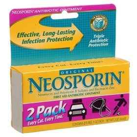 Neosporin First Aid Antibiotic Ointment (2 Tubes X 1 Oz Each)