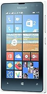 Microsoft Lumia 435 Smartphone débloqué 3G+ (Ecran : 4 pouces - 8 Go - Double SIM - Windows Phone 8.1) Blanc