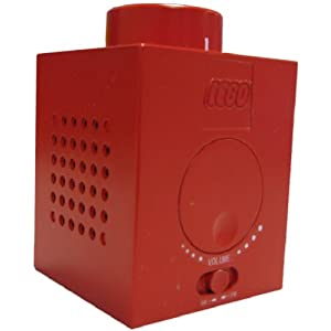 LEGO AM/FM Red (1X1)