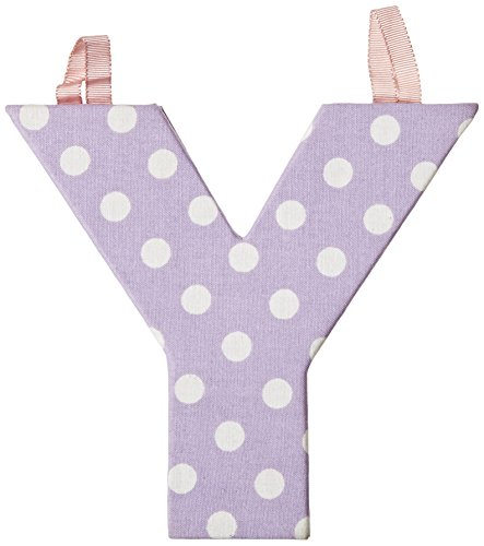 JoJo Maman Bebe Fabric Letters, Pastel Y - 1