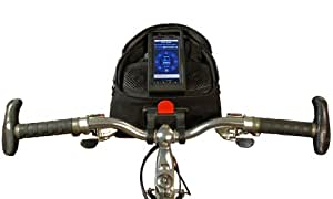 Audible Rush Jam-Pac Premium - World's Best Sound Bicycle Speaker System - AND Handlebar Bag - for iPhone , iPod , Android Smartphone , and MP3