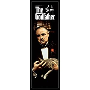 Amazon Com The Godfather Door Movie Poster Size 21