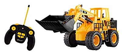 Top Race® 5 Channel Full Functional Front Loader, Electric RC Remote Control Construction Tractor TR-113 (With Lights & Sounds)