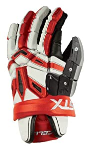 STX Cell Lacrosse Goalie Glove, 12 Inch, Red