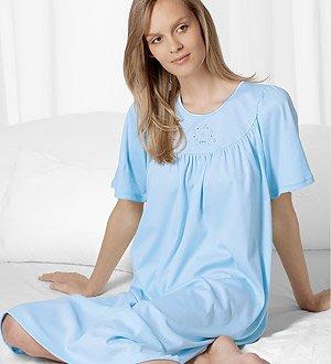 Sexy Women s Sleepwear   Robes  Calida Soft Cotton Short Sleeve ... b88bc1328