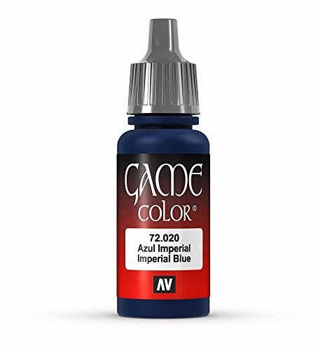 Vallejo Game Color Imperial Blue Paint, 17ml