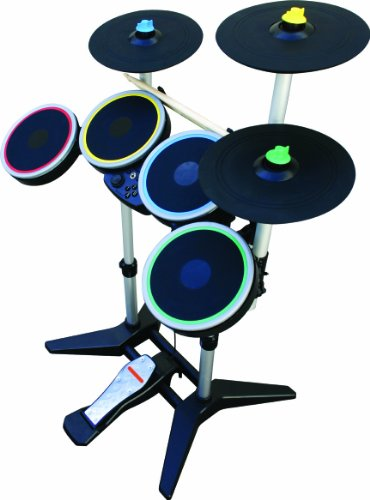 Rock Band 3 Wireless Pro-Drum and Pro-Cymbals Kit for Wii at Amazon.com