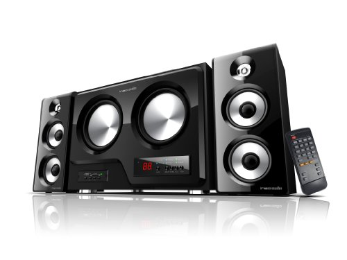 Alienvibes 160W 2.2 Channel Subwoofer Pc Speaker System With Remote (W601)