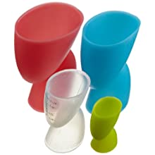 Casabella Silicone Measuring Cups 4 Pcs Set