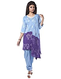 NITARA Women's Cotton Stitched Salwar Suit Sets - B01AJK7UYY