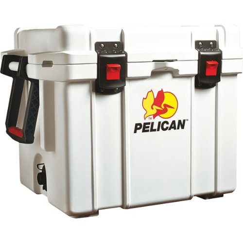 The Amazing Pelican Elite Cooler 35Qt Wht front-60323