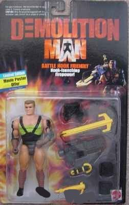 Buy Low Price Mattel Denis Leary as Battle Hook Friendly Action Figure – Demolition Man: The Movie (B0011VGM54)