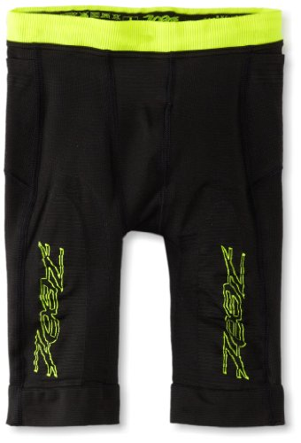 Zoot Sports Men's Ultra 2.0 CRX Shorts, Black/Safety Yellow, 2 Ultra Cycle Short