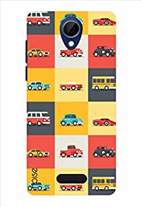 Noise Transport Modes Printed Cover for Gionee Marathon M4