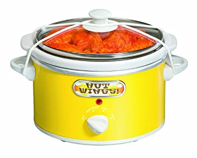 Proctor Silex 1.5 Quart Portable Slow Cooker, Yellow from Proctor Silex