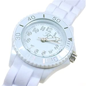 Girls/Boys Reflex Silicon Rubber strap Watch White Children's size