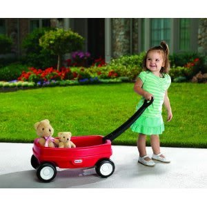 Toy / Game Little Tikes Lil' Wagon With Solid Durable Construction And Designed For Both Indoor & Outdoor Play front-1003656