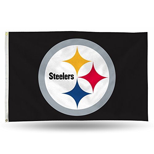 Pittsburgh Steelers NFL 3ft X 5ft Banner Flag FGB2302