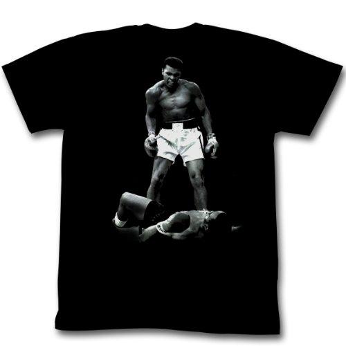 Muhammad Ali -  T-shirt - Uomo, nero, large