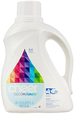 Cheer Liquid Detergent - 100 oz - Free & Gentle